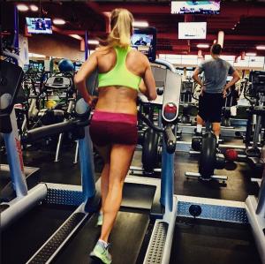 treadmill runinng