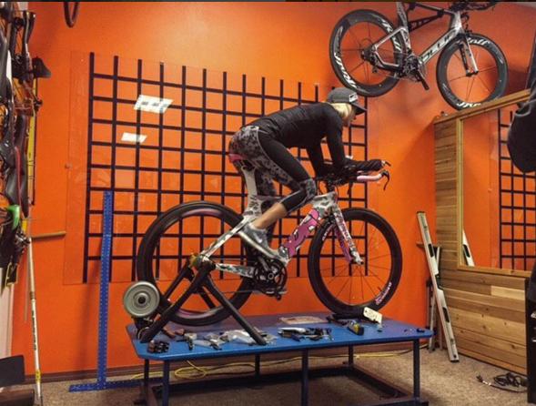 Pre-Ironman Training and BikeShopping